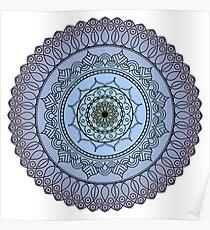 The Watching Mandala Poster