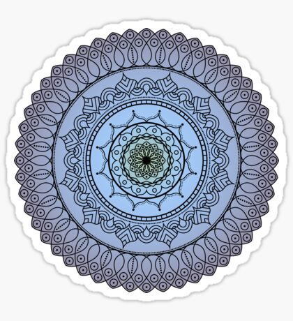 The Watching Mandala Sticker
