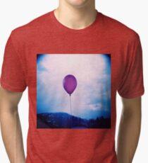 purple happiness Tri-blend T-Shirt