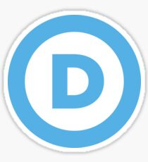 DNC Logo Sticker