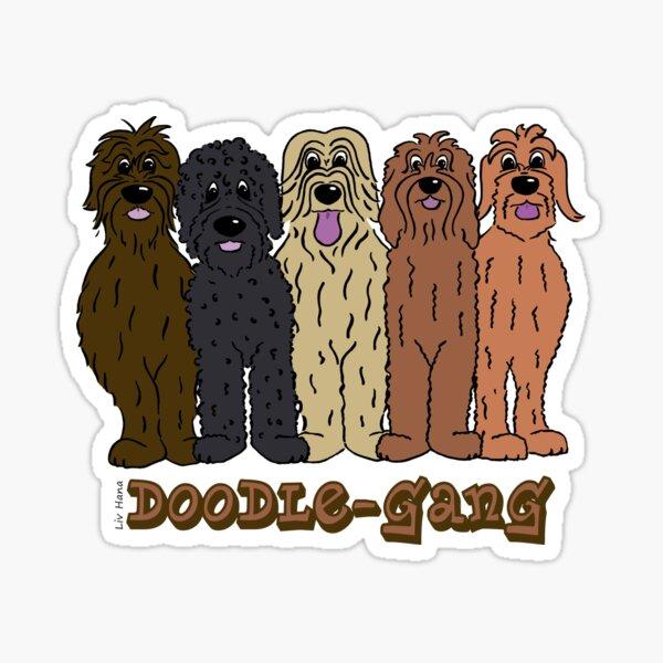 Doodle Gang Sticker