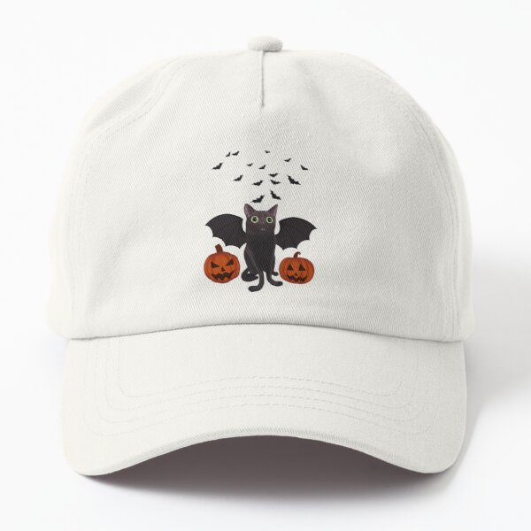 Halloween Bat Jinx Dad Hat