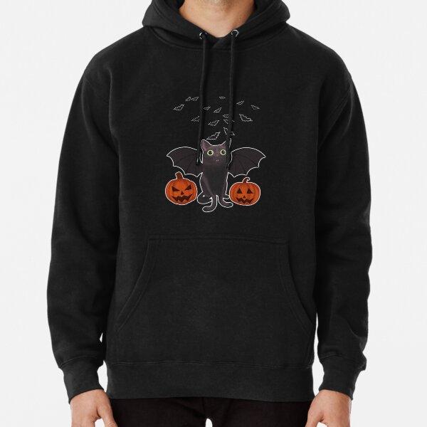 Chauve-souris d'Halloween Sweat à capuche épais