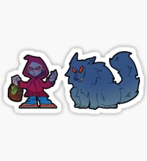 Getto (red riding) Hood Sticker