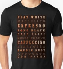 Coffee Connoisseur. Coffee Poster Unisex T-Shirt