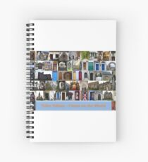 Tribe Tobias Doors on the World Spiral Notebook