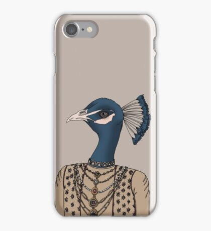 Indian Peacock iPhone Case/Skin