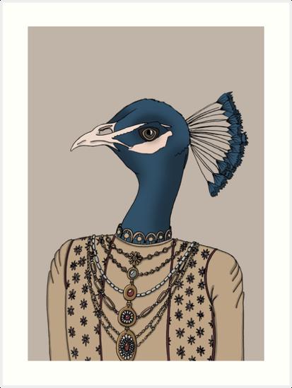 Indian Peacock by JemmaSharpe