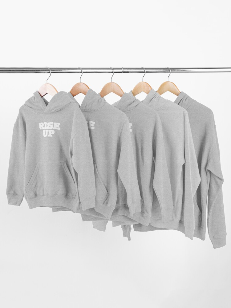 Alternate view of Rise Up Kids Pullover Hoodie