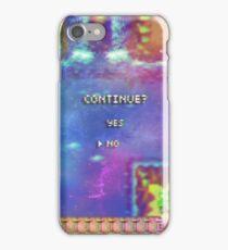 Continue in Space iPhone Case/Skin