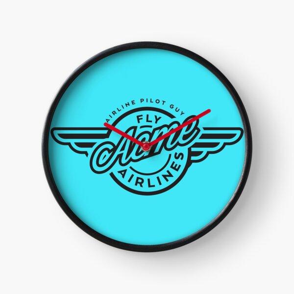 Airline Pilot Guy Show Clock