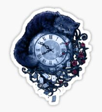 Time in Wonderland Sticker