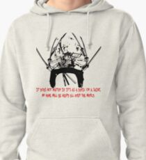 Asura Zoro Version Black & Blood Pullover Hoodie