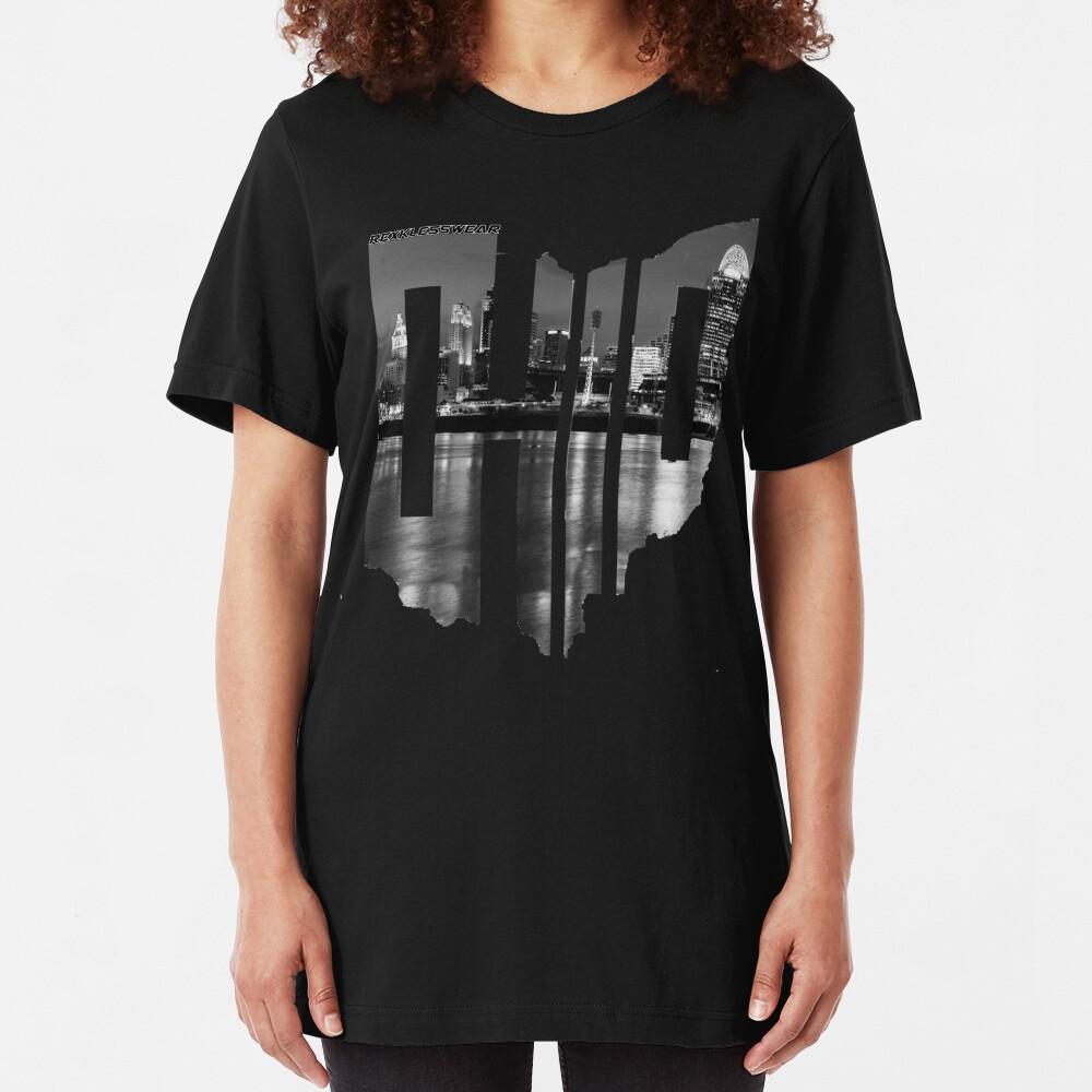 Cincinnati City Shamrock Tri-Blend T-Shirt