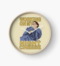 Liz Lemon - Night cheese Clock