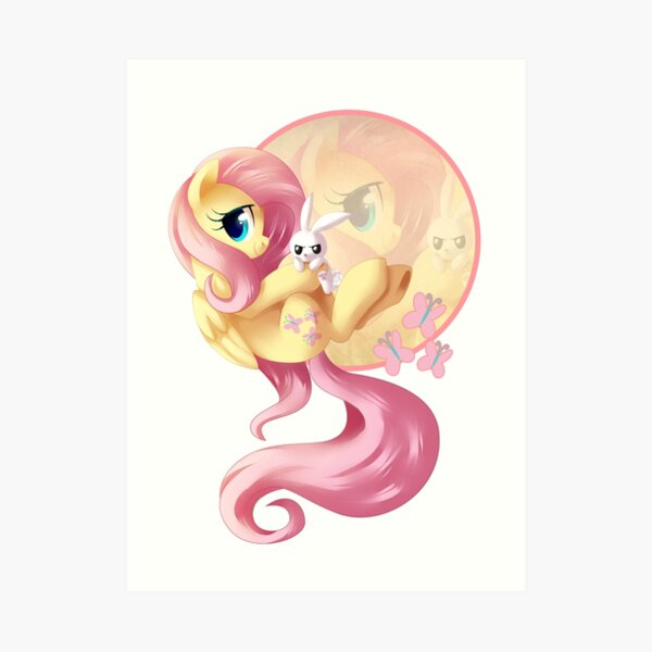 Flutter Love V2 Art Print