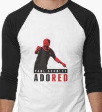 Angeblich - Paul Scholes Design - Manchester United Baseballshirt für Männer