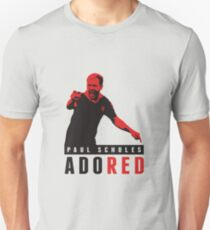 Adored - Paul Scholes Design - Manchester United Unisex T-Shirt