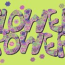 Floral Riot - Pink by Geckojoy