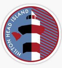 Hilton Head Island graphic! Sticker