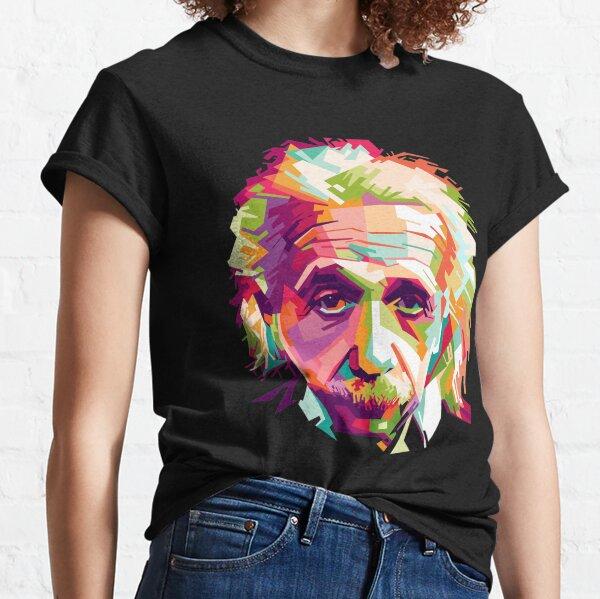 Albert Einstein Genius Space Cosmos Galaxy Universe Camiseta clásica