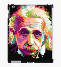 Albert Einstein Genius Space Cosmos Galaxy Universe iPad Case/Skin
