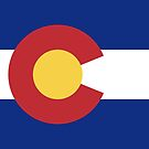 Colorado State Flag Products by Mark Podger