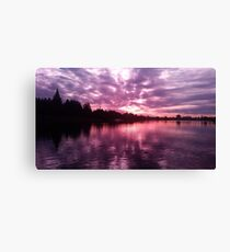 Lake Merritt Through Rose Colored Glasses Canvas Print
