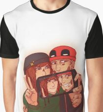 Wilson&Summers fake comic book cover (non-lettered) Graphic T-Shirt