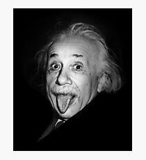 Lámina fotográfica Albert Einstein Genius Tongue Funny