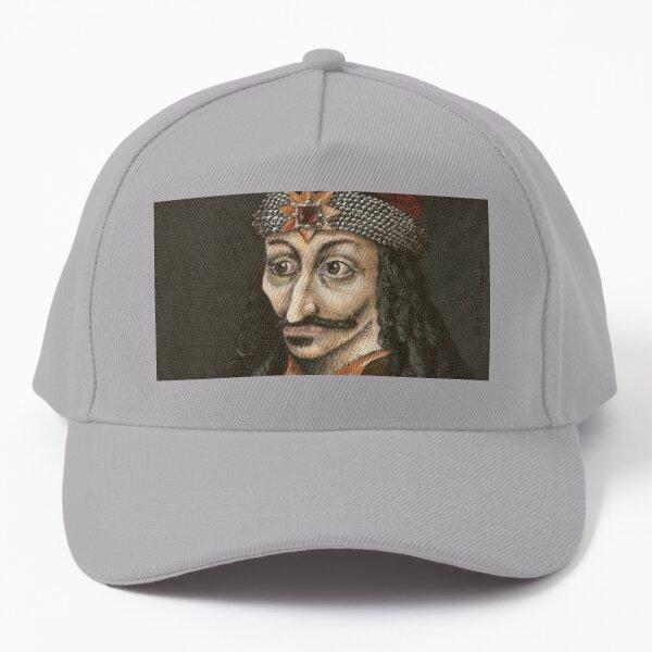 Vlad Dracula, Vlad III, Vlad Tepes, Vlad the Impaler fan art, based on my original acrylic painting Baseball Cap