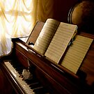 Piano and notes  by Maryna Gumenyuk