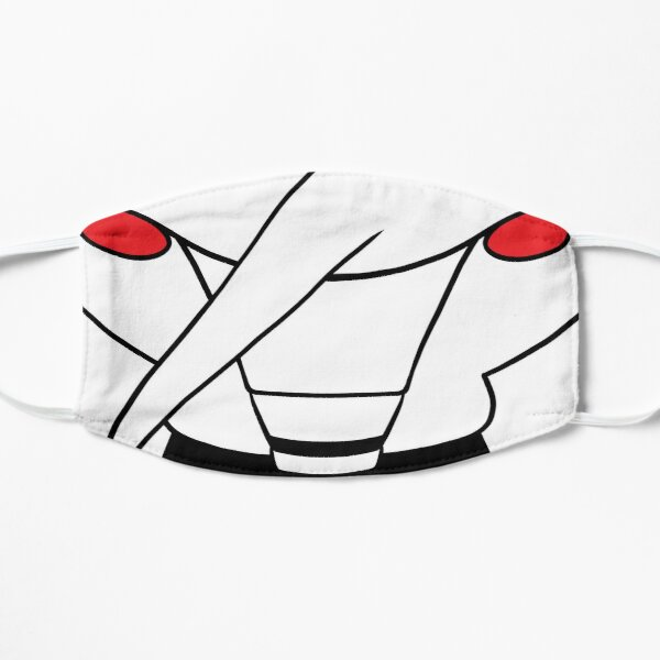Spamton [[Big Shot]] Mask Flat Mask