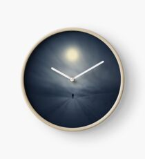 When dreams carry me past this life. Clock