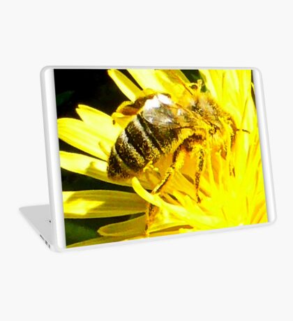 Pollinated Honeybee Laptop Skin
