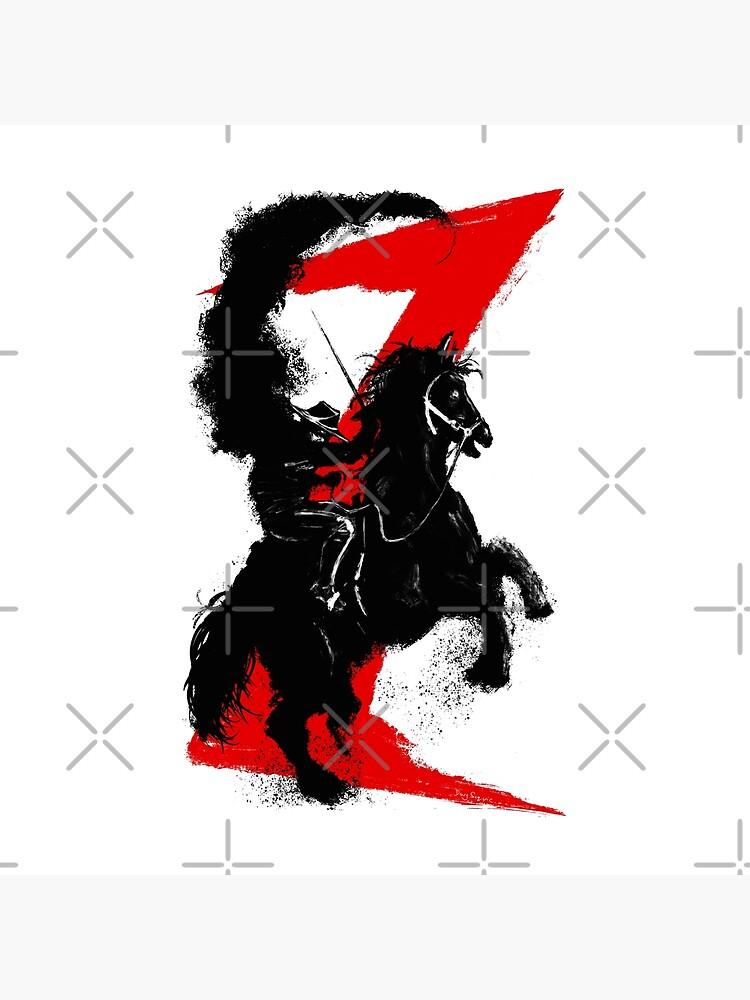 Zorro Horse Attitude  by DougSQ