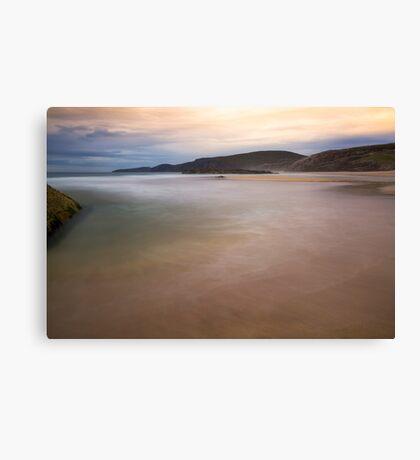 Sandwood Bay Dreamy Waters Canvas Print