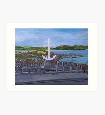 Cross of Lorraine, Lyle Hill, Greenock Art Print