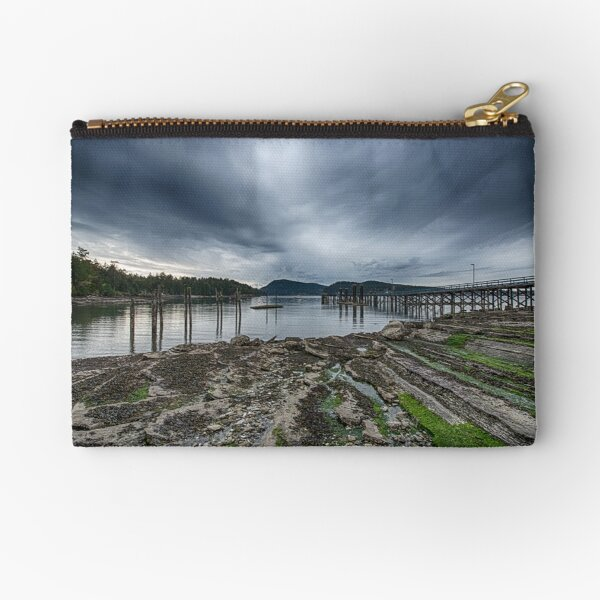 Miners Bay, Storm Coming Zipper Pouch