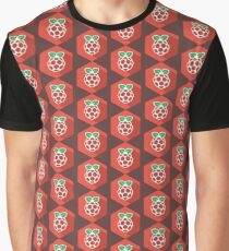 Raspberry Pi Fruit Graphic T-Shirt