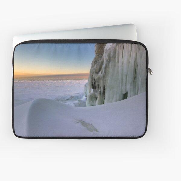 Sunset Drift - Lake Superior Laptop Sleeve