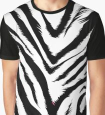 Zebra skin Graphic T-Shirt