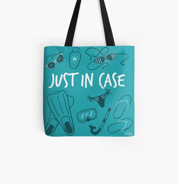 Beach bag - Just in Case Tote bag doublé