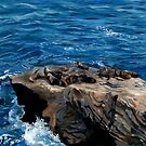 Sea Lions by Wendy Roberts