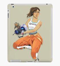 Chell and Potato GLADoS iPad Case/Skin