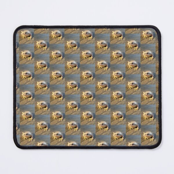 Golden Frog  Mouse Pad