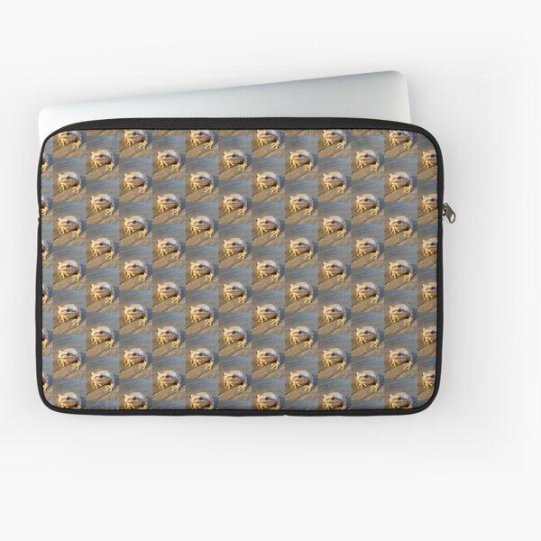 Golden Frog  Laptop Sleeve