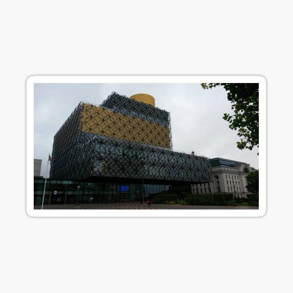 Birmingham Libary Building Sticker