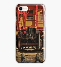 Caboose On The Loose iPhone Case/Skin