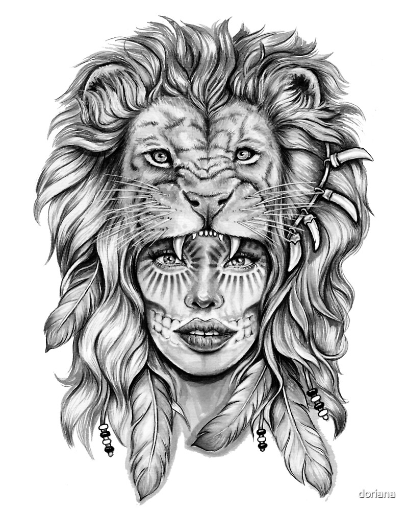 """""""Girl with Lion H..."""